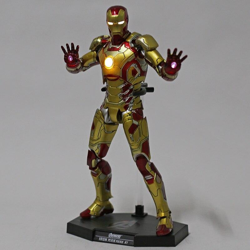 Экшн-Фигурка Железный Человек МК 43 МК 42 Светодиодная Мстители - h5b3ef4a7ff194bc58a9b2c6ad2271c20q
