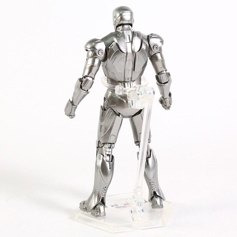 Оригинальная фигурка Железный Человек Mark Vl Светодиод - h628d66cc69f541f9b388d51c5461de35s