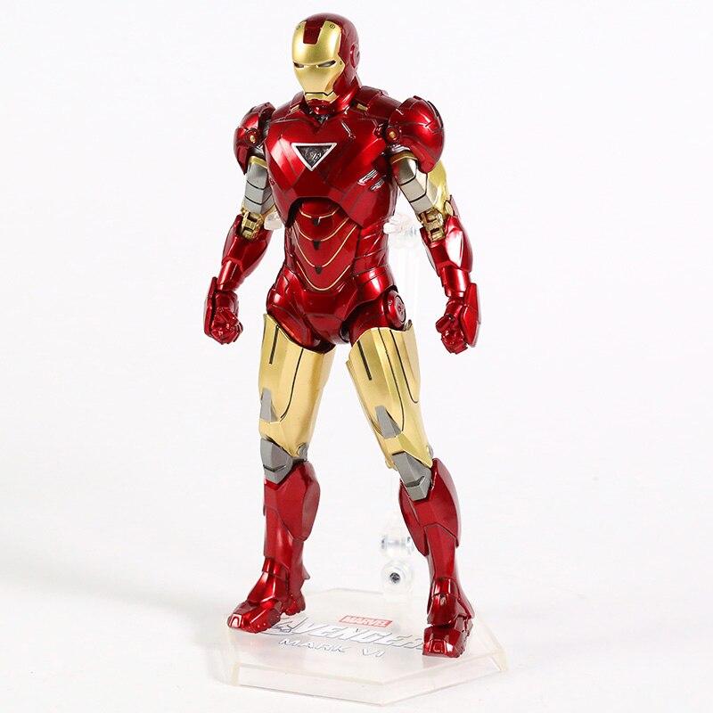 Оригинальная фигурка Железный Человек Mark Vl Светодиод - h65ceb6fe12d342a9952668bb8b2f0b2ft