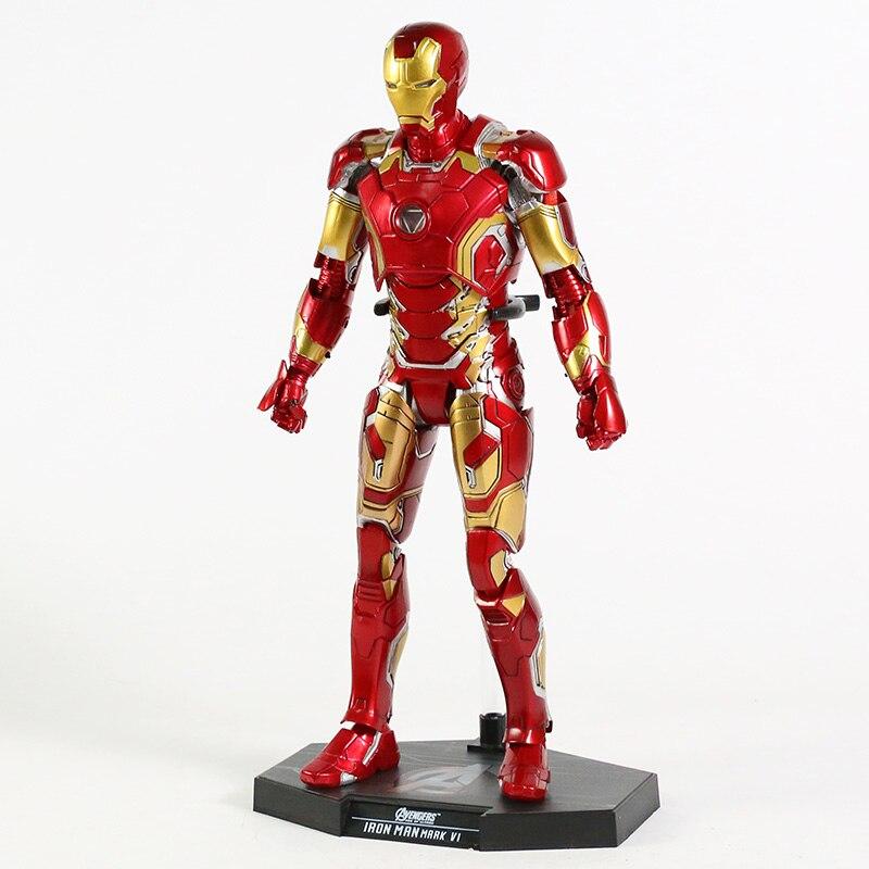 Экшн-Фигурка Железный Человек МК 43 МК 42 Светодиодная Мстители - h697872a81f3947759980478c2a88d4c1g