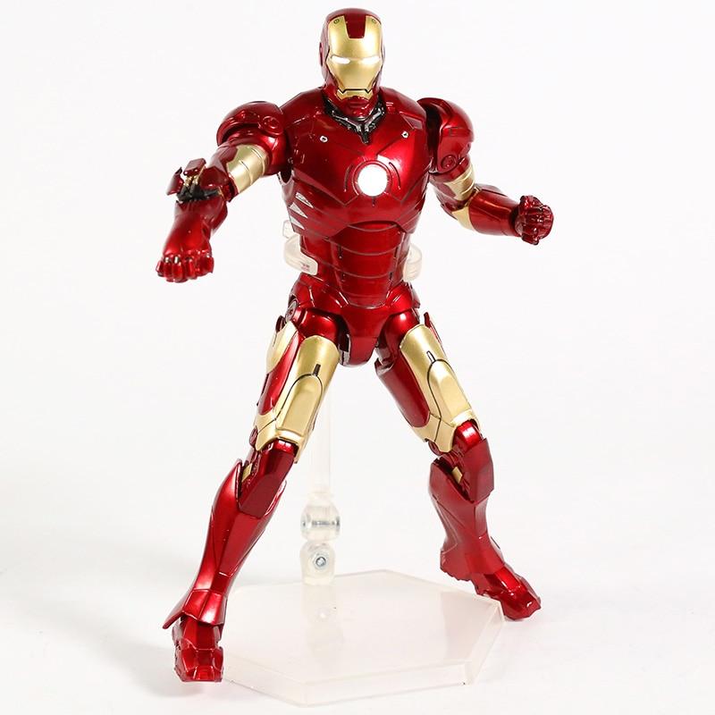 Оригинальная фигурка Железный Человек Mark Vl Светодиод - h77a15de077b444f2994f85fa4f2fa608v
