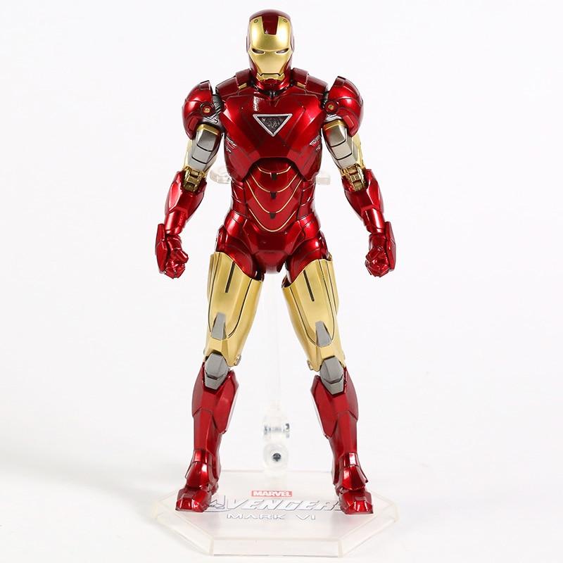 Оригинальная фигурка Железный Человек Mark Vl Светодиод - h84b4048e9d15499bb1e486f896900bbcq