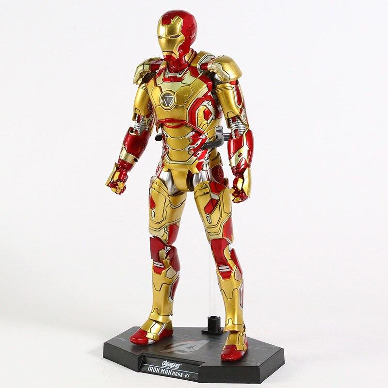 Экшн-Фигурка Железный Человек МК 43 МК 42 Светодиодная Мстители - h9f3907e9135142f4a9235f935534b8c9b