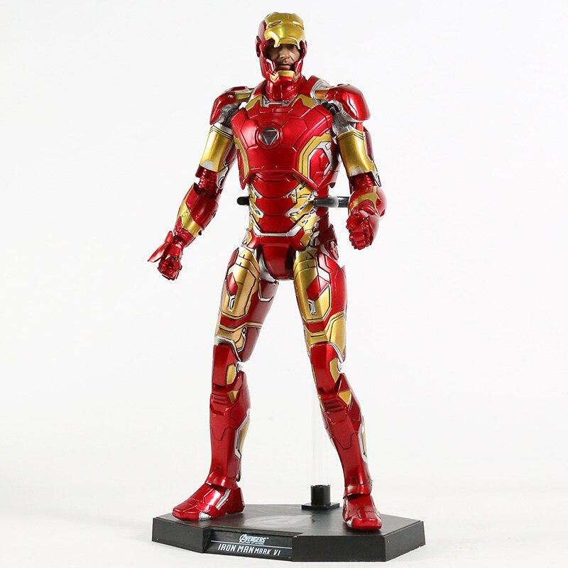 Экшн-Фигурка Железный Человек МК 43 МК 42 Светодиодная Мстители - ha11233aa750f40169a6030b45297f8d80