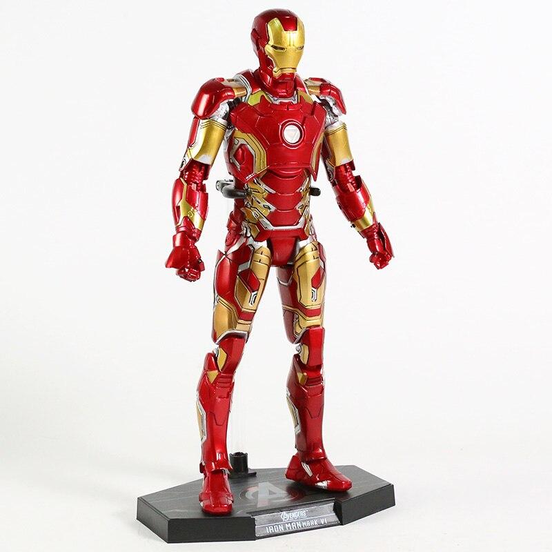 Экшн-Фигурка Железный Человек МК 43 МК 42 Светодиодная Мстители - ha489a04cade44482a514567e6fc1557bv