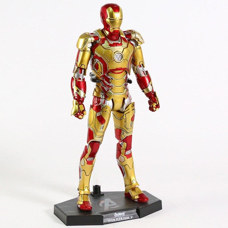 Экшн-Фигурка Железный Человек МК 43 МК 42 Светодиодная Мстители - ha540e023dce742928f4b2323ff821874y