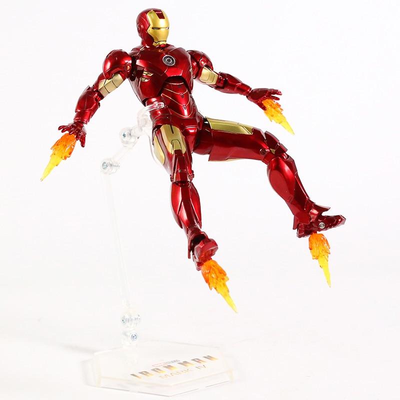 Оригинальная фигурка Железный Человек Mark Vl Светодиод - hac5c864711904d64b1f8b7c613625a380