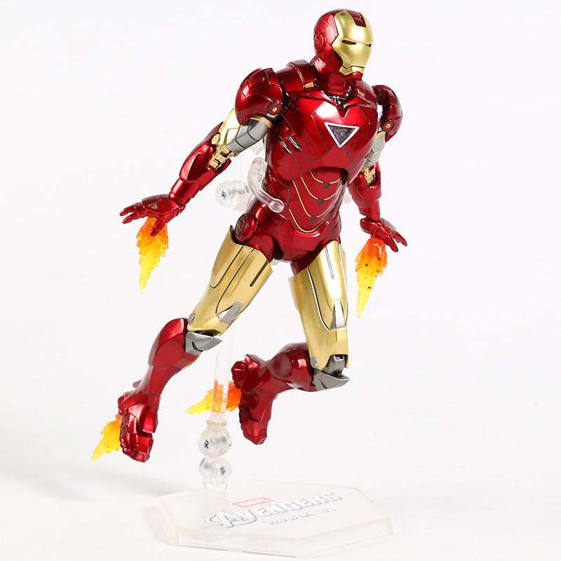 Оригинальная фигурка Железный Человек Mark Vl Светодиод - hacbe8fab7e594b728b1fdfdd949c73a98