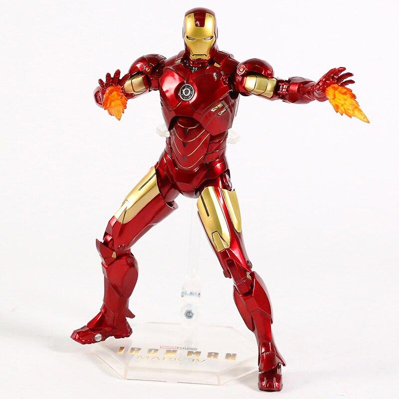 Оригинальная фигурка Железный Человек Mark Vl Светодиод - had3522167b2a41dc8bc8d5a8a009d41ds