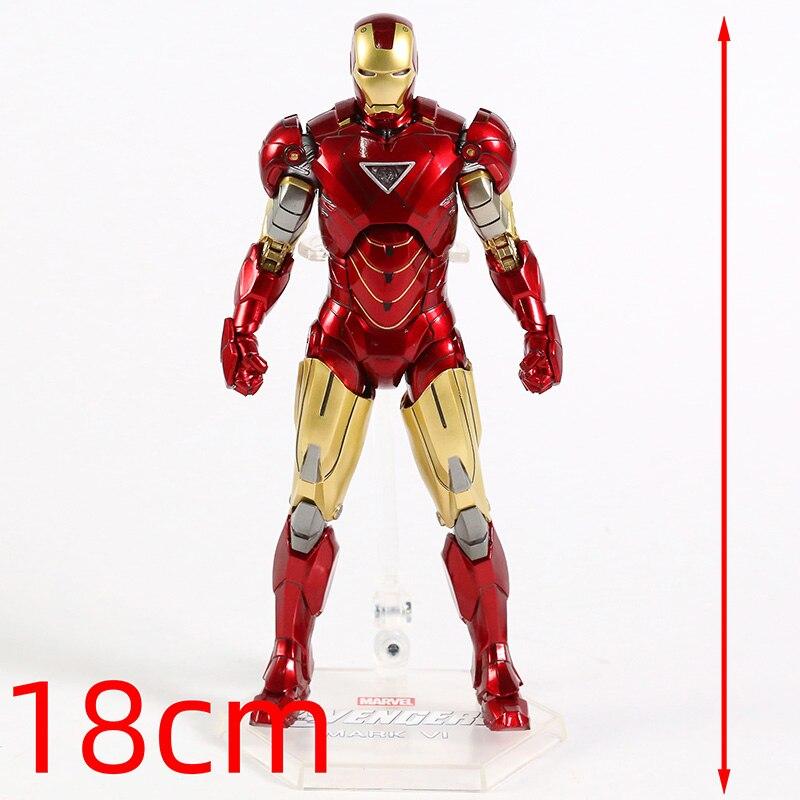 Оригинальная фигурка Железный Человек Mark Vl Светодиод - hb0bc05525e1147fdbf0f89c765475674l