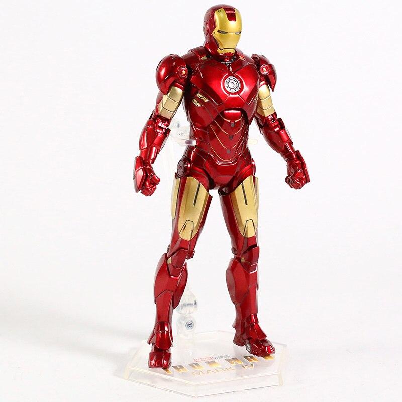 Оригинальная фигурка Железный Человек Mark Vl Светодиод - hb7ca218068dc49c6900b1d6dc3d5972bf