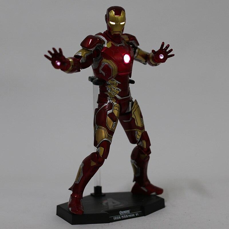 Экшн-Фигурка Железный Человек МК 43 МК 42 Светодиодная Мстители - hb9e7ec2565644a45b11c07d4d4073bb6b