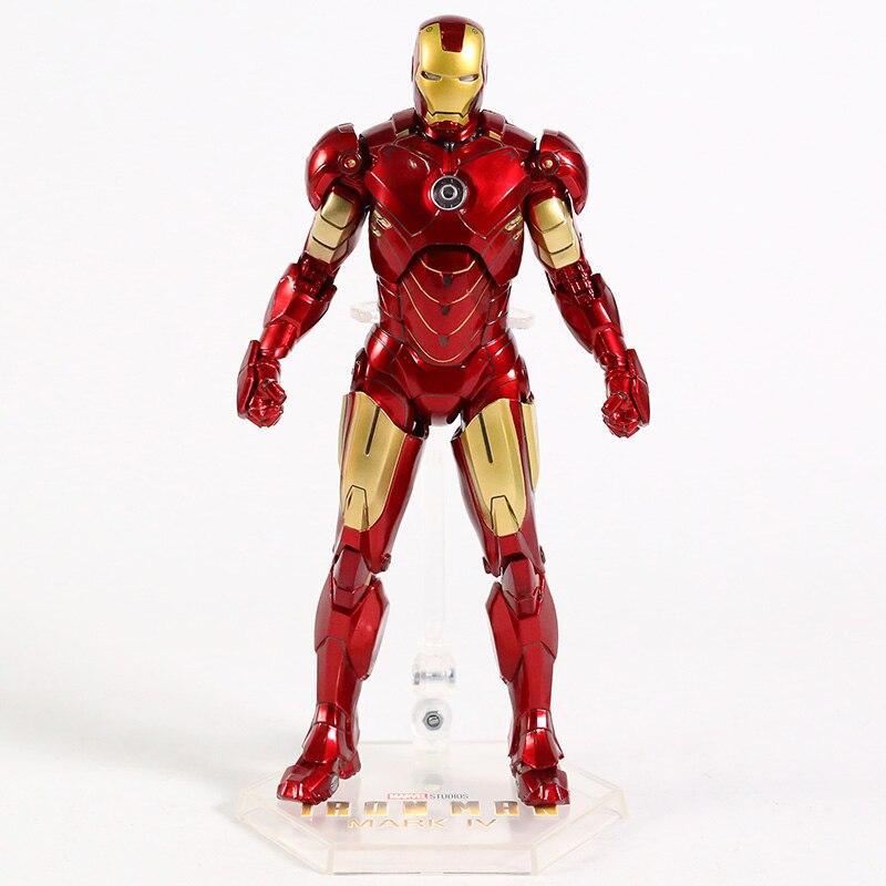 Оригинальная фигурка Железный Человек Mark Vl Светодиод - hbf02022102fd4b718396e8c8de7ed62ce