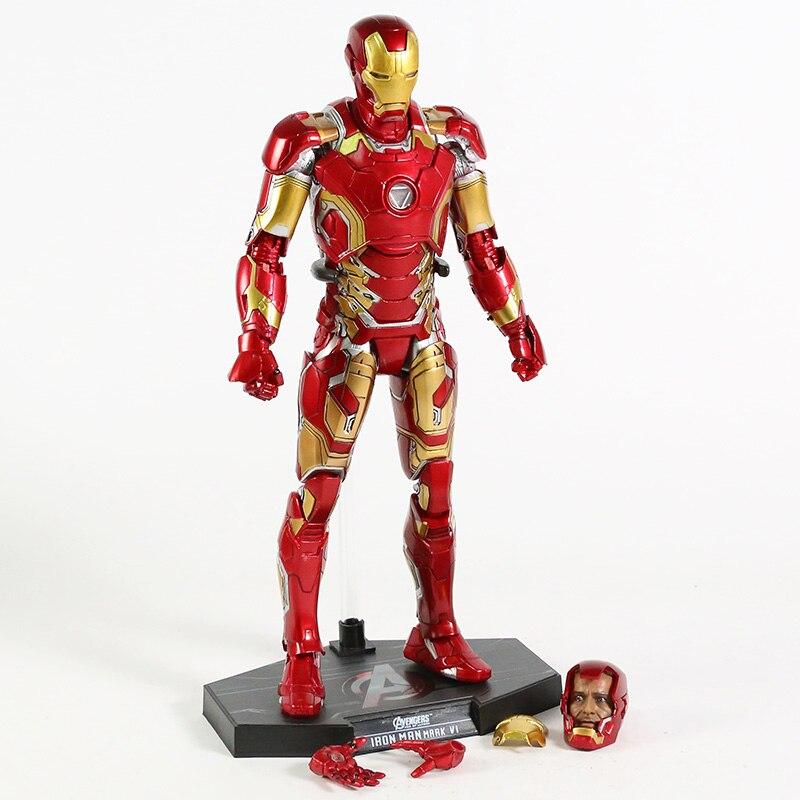 Экшн-Фигурка Железный Человек МК 43 МК 42 Светодиодная Мстители -