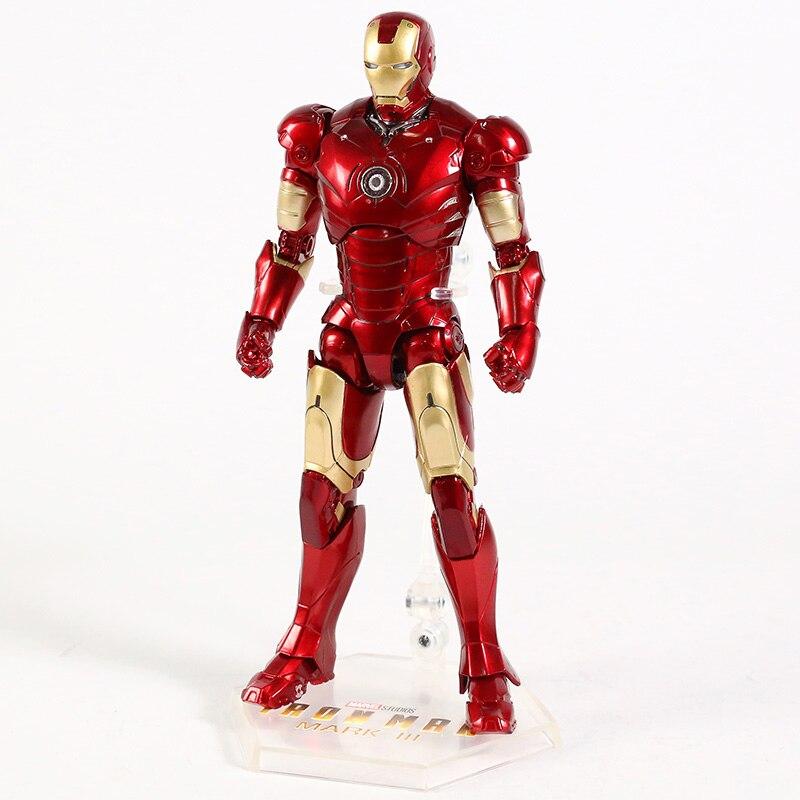Оригинальная фигурка Железный Человек Mark Vl Светодиод - hc20850a21fbb42dca76a88ba2d4988e27