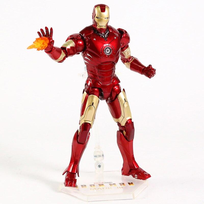 Оригинальная фигурка Железный Человек Mark Vl Светодиод - hc444d09e2cde4e8eac341247b168189cj