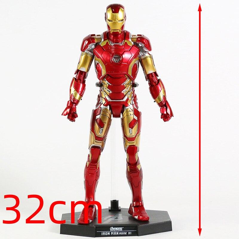 Экшн-Фигурка Железный Человек МК 43 МК 42 Светодиодная Мстители - hcb8255f1b9924d7a9b9411adc472276fm