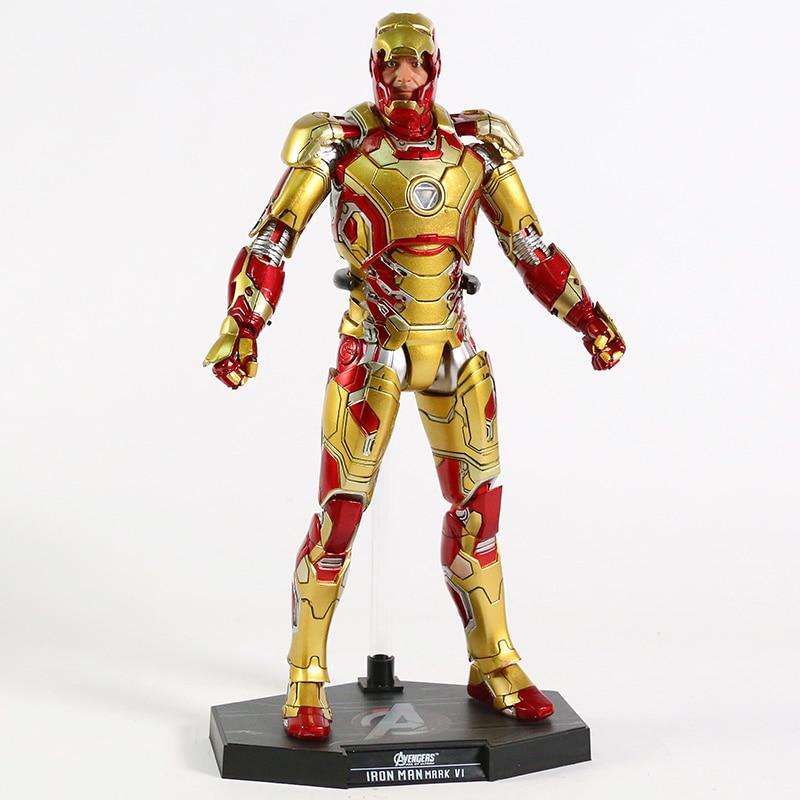 Экшн-Фигурка Железный Человек МК 43 МК 42 Светодиодная Мстители - hcf66f0b5f0d74c59822f9f863723c6e5n