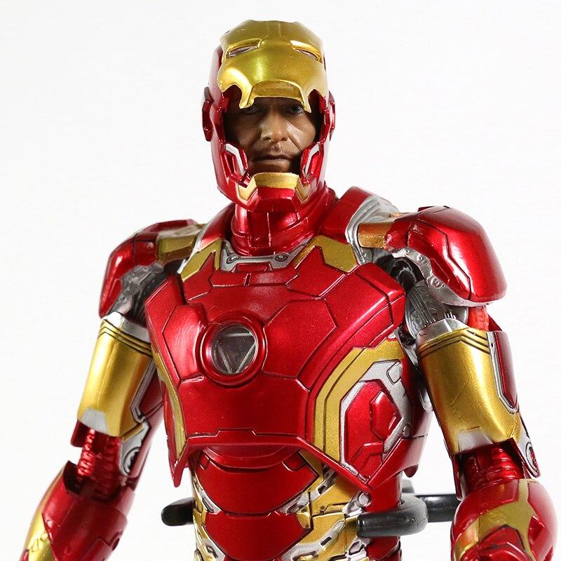 Экшн-Фигурка Железный Человек МК 43 МК 42 Светодиодная Мстители - hd39e30ff6d124946a29037466039d766n