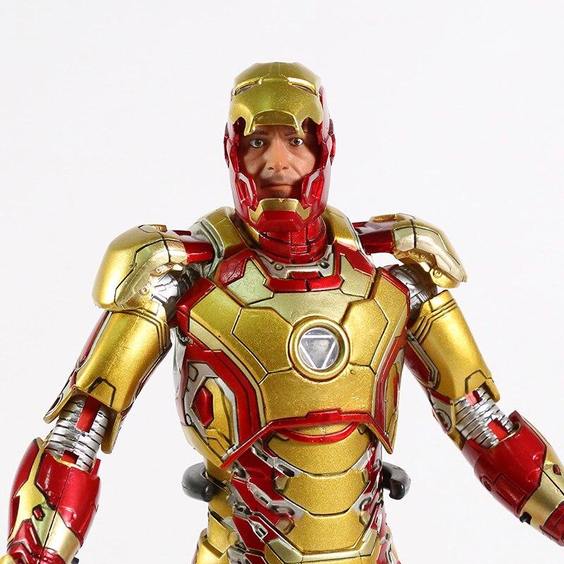 Экшн-Фигурка Железный Человек МК 43 МК 42 Светодиодная Мстители - hd83196bdd1074af8b8be7835855dc504q