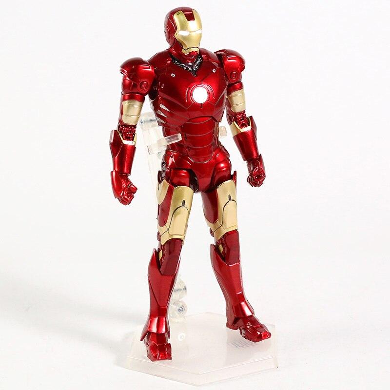 Оригинальная фигурка Железный Человек Mark Vl Светодиод - hecede694128b4c3aa0cf6f5a3beb1227d