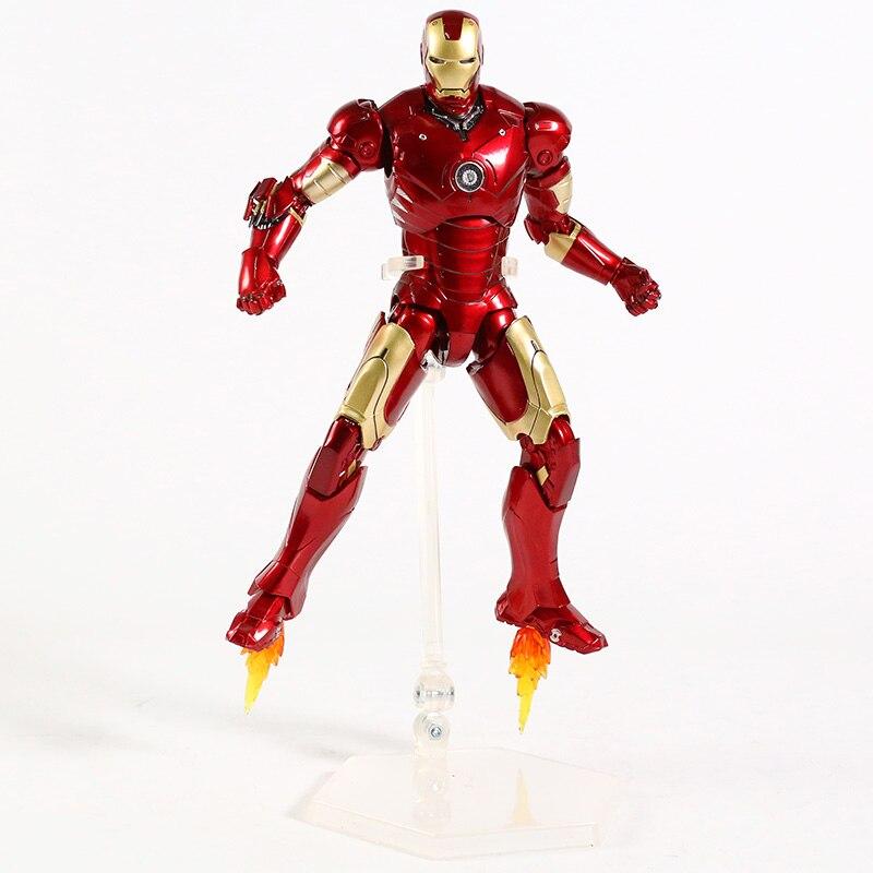 Оригинальная фигурка Железный Человек Mark Vl Светодиод - hf8d37dbbbfd74ef9804311ddf3911f912