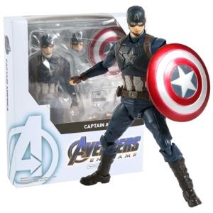 Экшн-Фигурка Капитан Америка с Щитом Мстители 15 см - shf