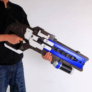 Пистолет Импульсный D.Va Водяные Пули Игрушка 80 СМ - game hero 76