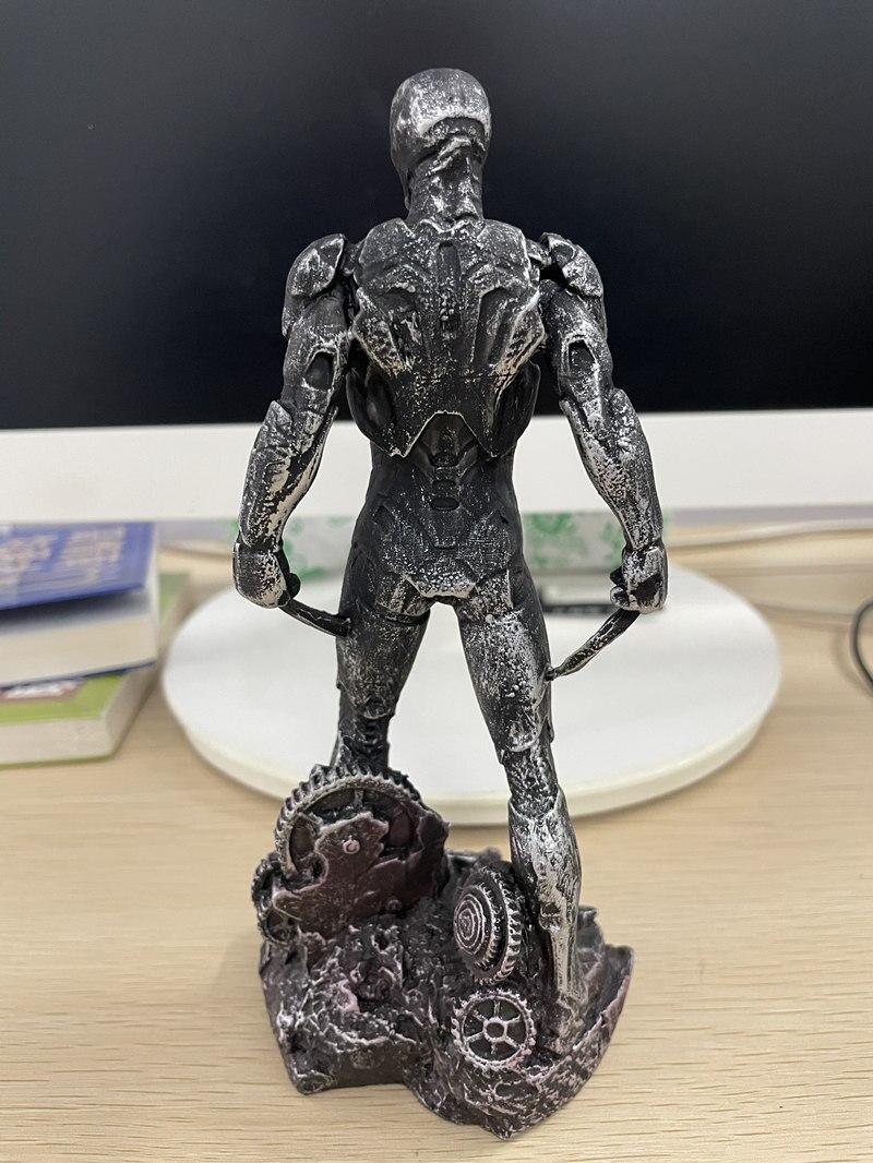 Статуэтка Персонаж Железный Человек Бэтмэн Логан Металлик - h15b5ab80087f4326a56dbd2a95d7c1dc7