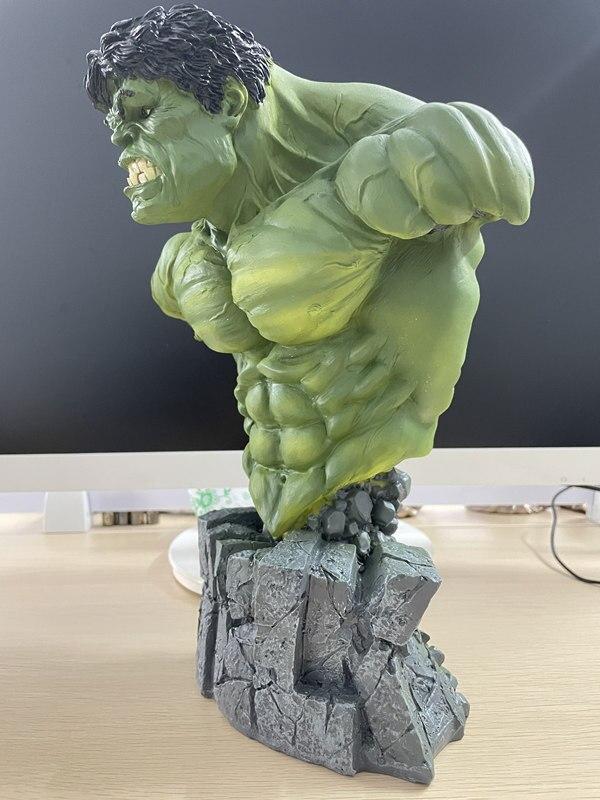 Бюст Халк Большой Каменная Подставка 30 см Коллекционный - h19ea8759baca4bd68d0dc3e3a0ff2449a