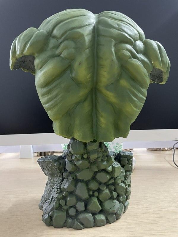 Бюст Халк Большой Каменная Подставка 30 см Коллекционный - h1cace793d91a48c5b87064fbed89fec2k