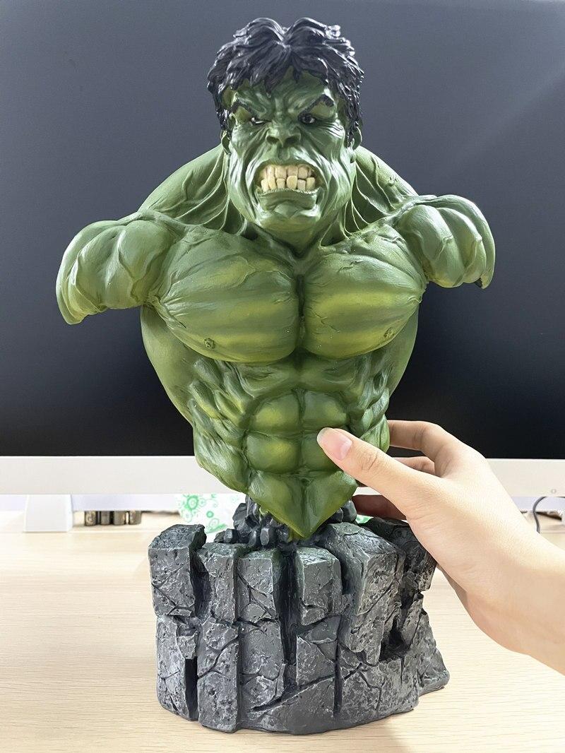 Бюст Халк Большой Каменная Подставка 30 см Коллекционный - h1dd263ef8d3e4690a85e0dff3f8184dcp