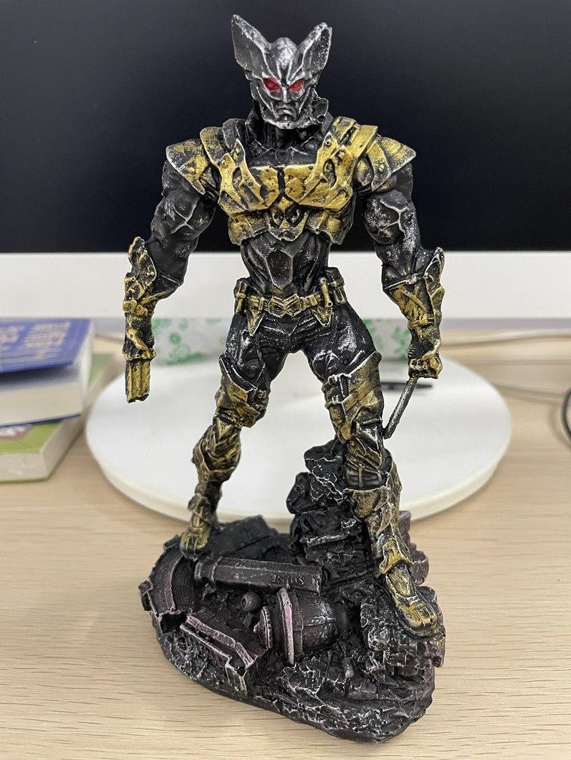 Статуэтка Персонаж Железный Человек Бэтмэн Логан Металлик - h76d5b7035fc84dc98d26891c30956191v