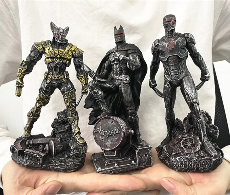 Статуэтка Персонаж Железный Человек Бэтмэн Логан Металлик - hb43d2b467ffe4dc39135b0c23334f1c4s