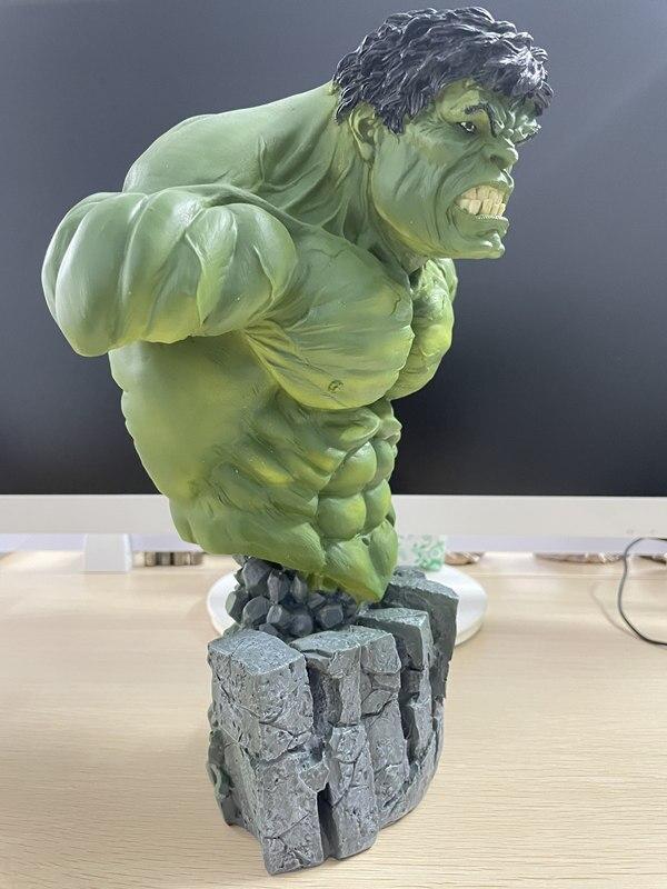 Бюст Халк Большой Каменная Подставка 30 см Коллекционный - hf36c5ec3cc414a859ea97c7de8f616f6e