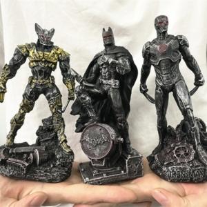 Статуэтка Персонаж Железный Человек Бэтмэн Логан Металлик - vip 5