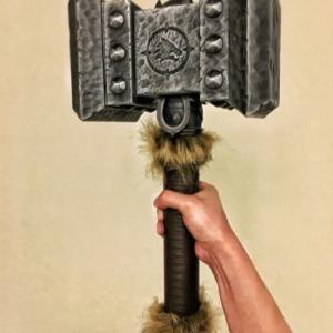 Молот Думхаммер Оружие Тралл Мир Варкрафта - 1 1 55 wow 3