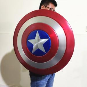 Щит Капитан Америка Большой 60 СМ Металлический - 1 1 60