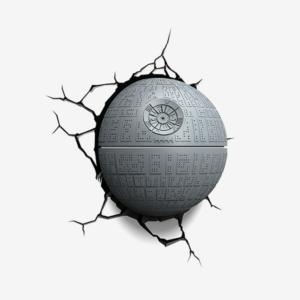 Светильник 3D Star Wars Звезда Смерти Настенный - 3d 5