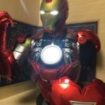 Бюст Железный Человек МК 6 Статуя Светодиодная Подсветка - 41 1 2 mk6