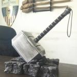 Молот Мьёлнир Тор 44 СМ 1:1 Подставка Каменная - 44 1 1 super hero