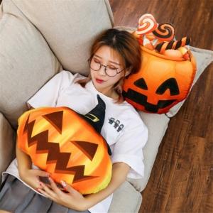 Игрушка Мягкая Подушка Креативная Тыква Хэллоуин - 50 3