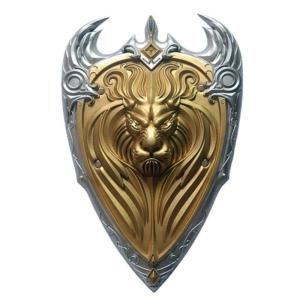Косплей Щит Варкрафт Альянс Золотой Лев 56 СМ - 56 wow king llane
