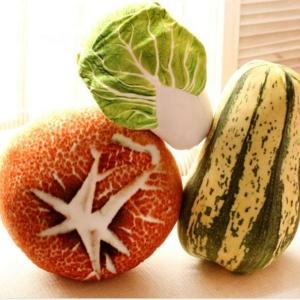 Подушка Мягкая Тематика Овощи Цветная Капуста Гриб - 70