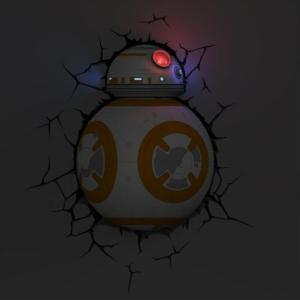 Светильник 3D ВВ-8 Дроид Звёздные Войны Настенный - bb 8
