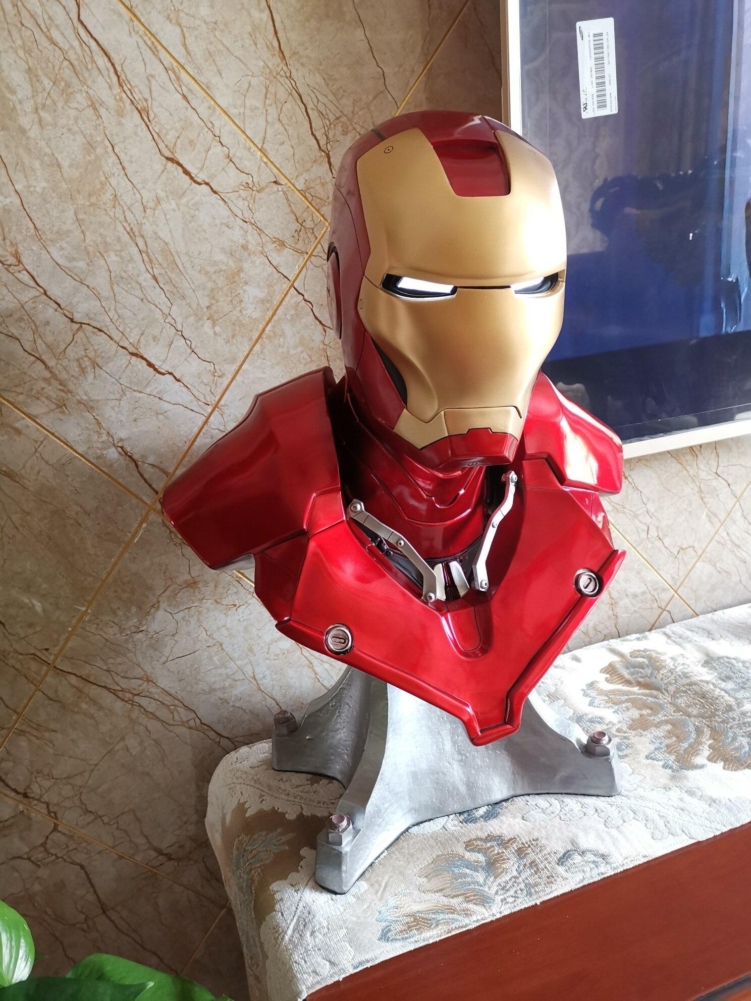 Бюст Железный Человек Марвел МК3 Светодиодный - h0b2298bb7d3a4505b7d0beb978fd5773h