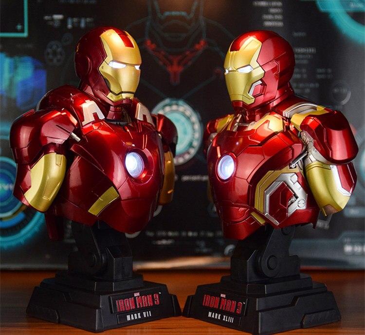 Бюст Железный Человек 3 МК42 МК43 Подсветка - h0d1b0454815843c185392e2f092de9669