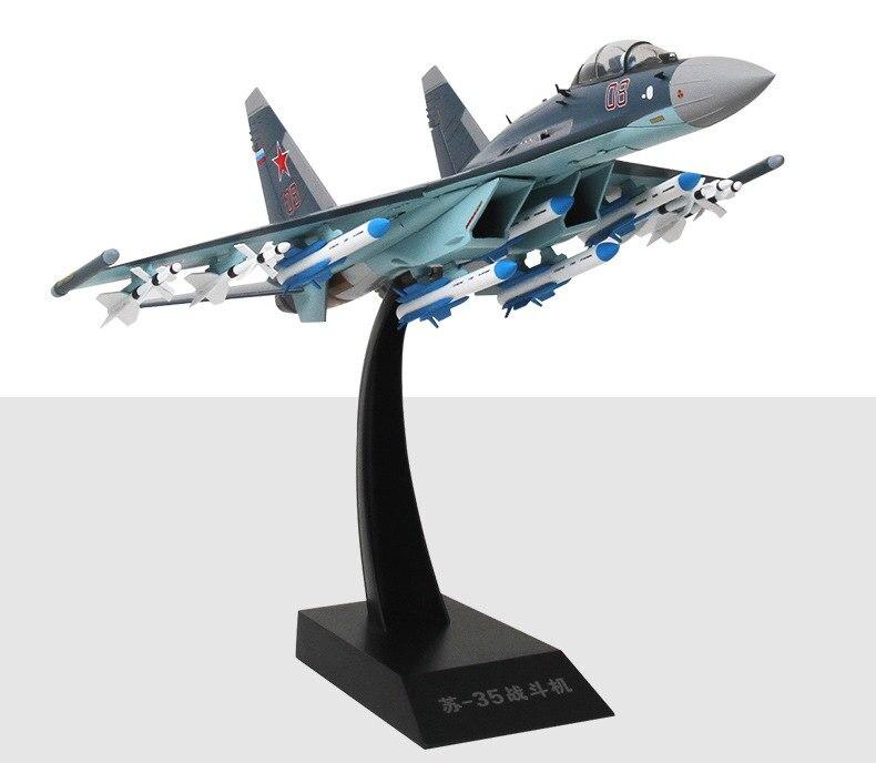 Фигурка Истребитель Россия Су-35 Подставка - h0e765dde485746c88ad2d644eb818b33c