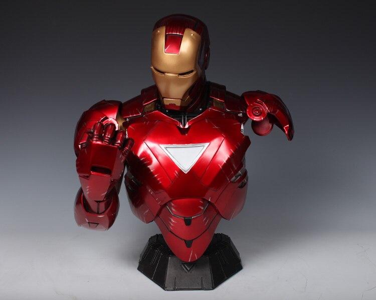 Бюст Железный Человек МК 6 Статуя Светодиодная Подсветка - h1242a1adaae3465caa4c11ae884107ffi