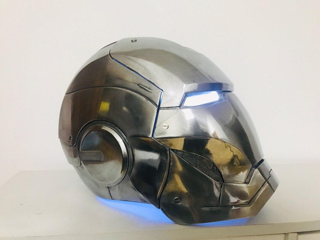 Шлем Железный Человек МК 3 Металл Сплав Подсветка - h14439b7824d349b4828992645be971e2p